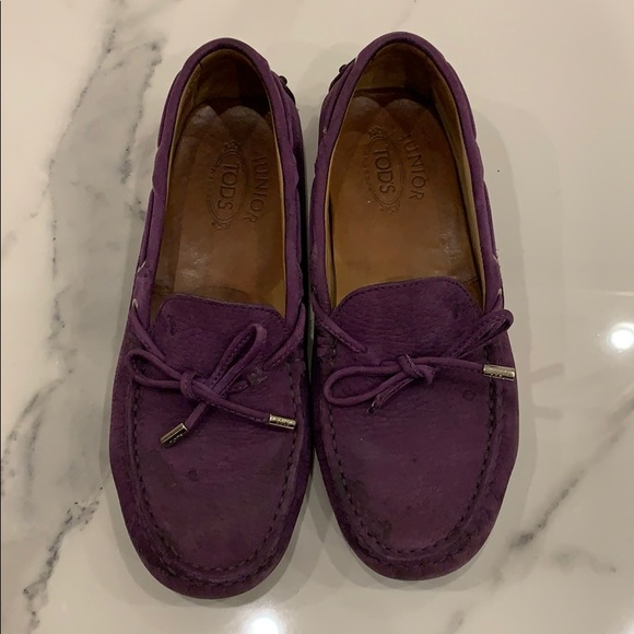 Tods junior loafers size 35
